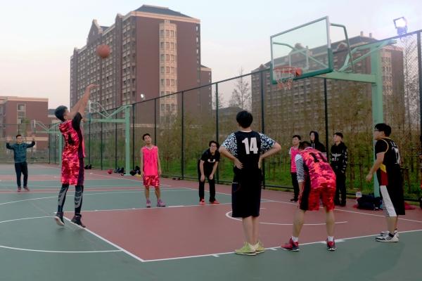 省市政协篮球联谊赛河源举行
